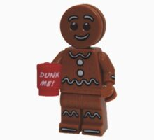 LEGO Gingerbread Man with Dunk Me Mug Kids Tee