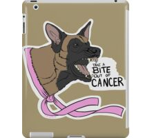 Take A BITE Out of CANCER iPad Case/Skin