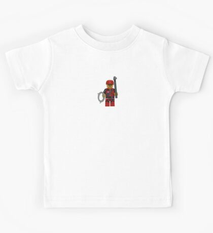 LEGO Climber with Ice Axe and Rope Kids Tee