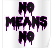 No Means No Poster