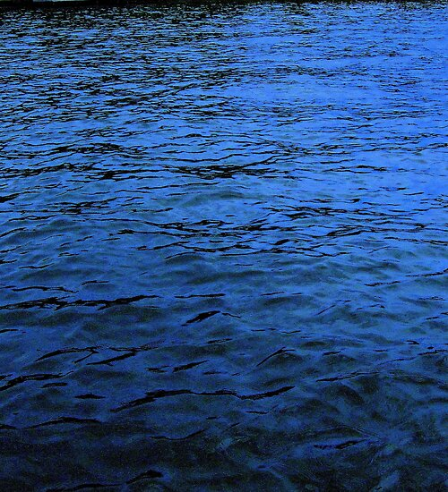 Deep Indigo Waters© by walela