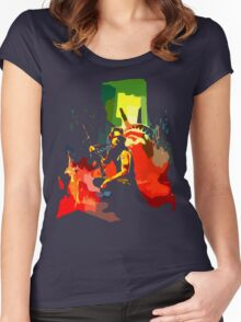Call me Snake Women's Fitted Scoop T-Shirt