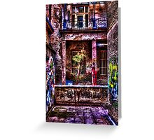 Urban Decay Fine Art Print Greeting Card