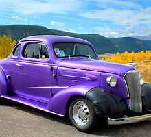 1937 Chevy on Colorado Highway 149 by Mitchell Tillison