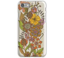 Fall Flowers iPhone Case/Skin