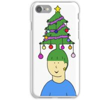 Funky Christmas Hair iPhone Case/Skin