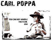 The Walking Dead Carl Poppa by ervinderclan