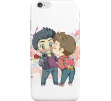 Flower Candy Kiss iPhone Case/Skin