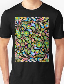 Abstract Colorful Drops T-Shirt