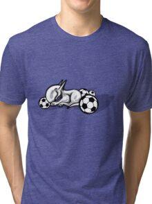 English Bull Terrier Pest Tri-blend T-Shirt