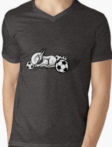 English Bull Terrier Pest Mens V-Neck T-Shirt
