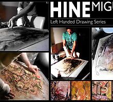 Miguel Hine - Left Handed Drawings 2009. by Miguel Hine