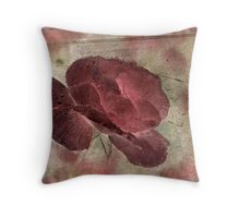 Rose Storms Throw Pillow