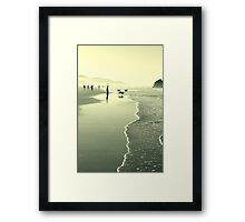 a dog's life Framed Print