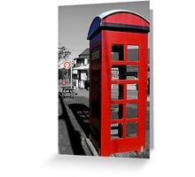 Tilba Tilba Telephone - NSW Greeting Card