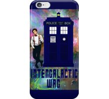 doctor who - INTERGALACTIC WAG (universe) iPhone Case/Skin