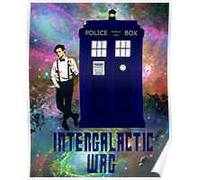 doctor who - INTERGALACTIC WAG (universe) Poster