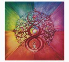 """Heart of Infinity"" - Mandala of Wealth and Balance Baby Tee"