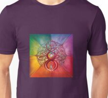 """Heart of Infinity"" - Mandala of Wealth and Balance Unisex T-Shirt"