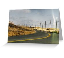 Dune Road Greeting Card