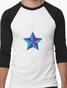 Star Opposed color V Men's Baseball ¾ T-Shirt