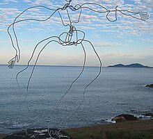 Wire Man by Rodney Wratten