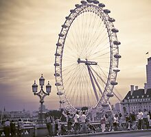 Moody London Eye by DonDavisUK