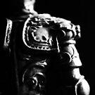 Knight Statuette Macro II by MBWright88