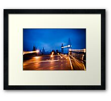 What's the Point of Light? Framed Print