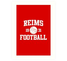 Reims Athletic College Style 2 Color Art Print