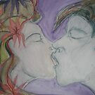 First Kiss by Anthea  Slade