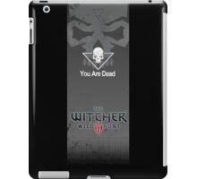 Witcher 3: Wild Hunt - Death Screen iPad Case/Skin