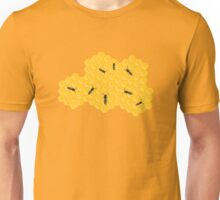 Honey bees at work in bee hive Unisex T-Shirt