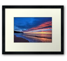 Promise Of Things To Come - Newport Beach - The HDR Experience Framed Print