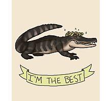 Best Gator Photographic Print