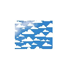Cloud on Sky Photographic Print