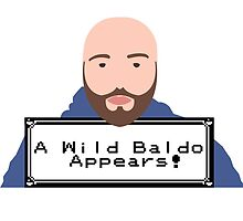 """Matthew Santoro """"A wild Baldo""""  by YTMerch"""