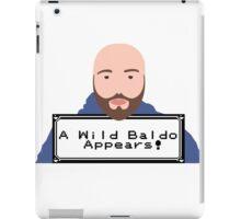 """Matthew Santoro """"A wild Baldo""""  iPad Case/Skin"""