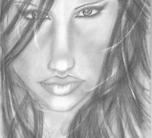 Female Face by cherryT