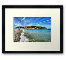 Llandudno Beach Framed Print