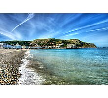 Llandudno Beach Photographic Print