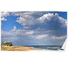 The Magic of Sky & Water - Nobbys Beach NSW Poster