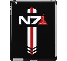 N 7 Nitrogen Effect iPad Case/Skin