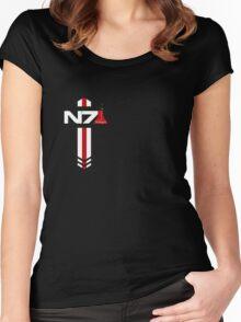N 7 Nitrogen Effect Women's Fitted Scoop T-Shirt