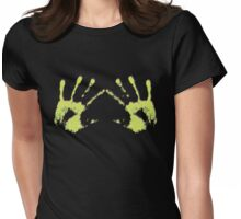 """""""Hands"""" Womens Fitted T-Shirt"""
