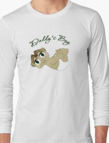 Daddy's Boy Brown Hair and Green Eyes T-Shirt