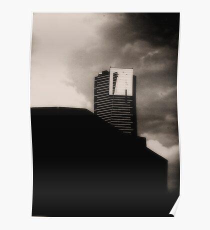 Mordor.( Eureka Tower Melbourne ) Poster