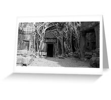 Roots and the Doorway Greeting Card