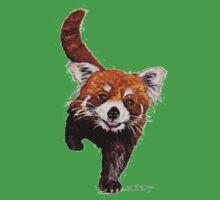 Red Panda Baby Tee