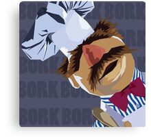"Swedish Chef ""Bork Bork"" Canvas Print"